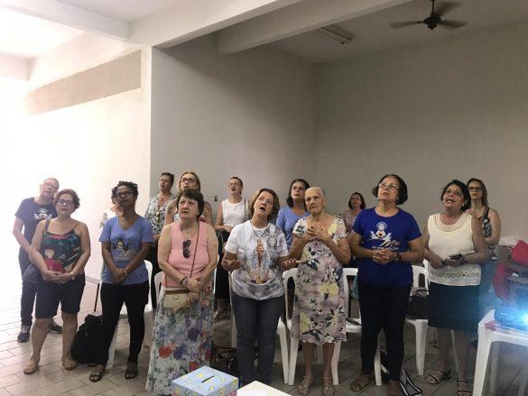 RETORNO DO GRUPO DE MÃES – PARÓQUIA NOSSA SENHORA DA VITÓRIA