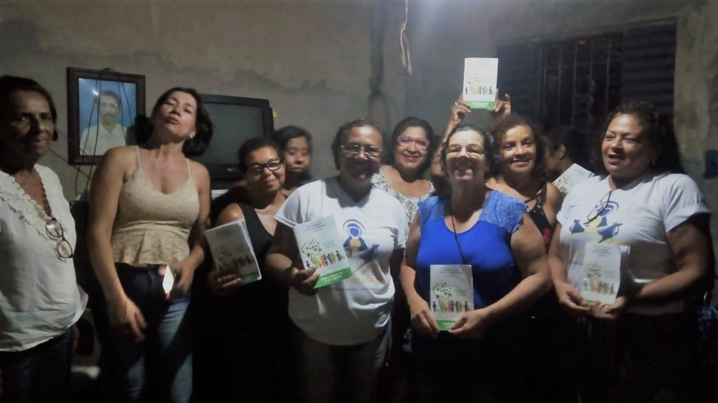 MÃES ORANTES DA MATRIZ DE FÁTIMA VIVENDO A CAMPANHA DA FRATERNIDADE 2019