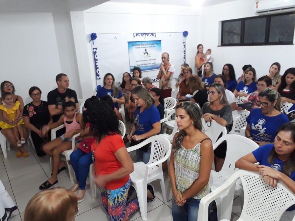 GRUPO DE MÃES – PARÓQUIA SANTO ANTONIO DE PÁDUA – ICONHA/ES