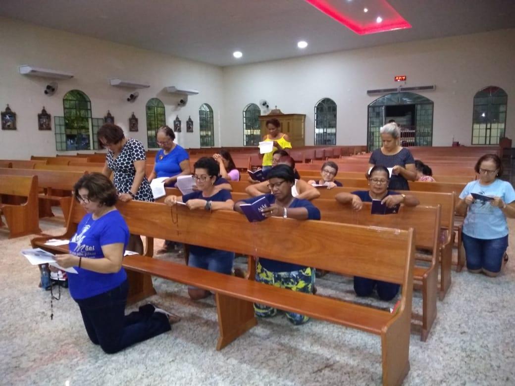 GRUPO DE MÃES DA IGREJA MATRIZ SAGRADO CORAÇÃO DE JESUS