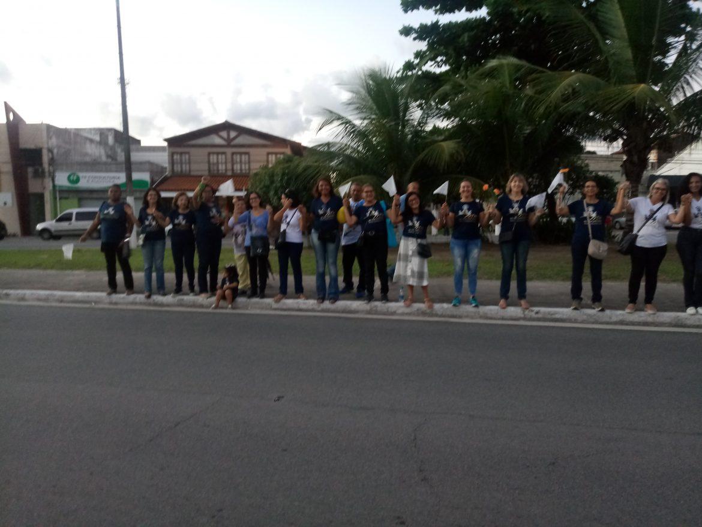 GRUPO DE MÃES EM ALAGOAS PRESENTE NA PROCISSÃO DE CORPUS CHRISTI