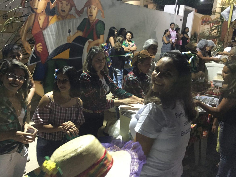 PRIMEIRO ARRAIÁ DA PARÓQUIA DE SÃO SEBASTIÃO EM EQUADOR-RN