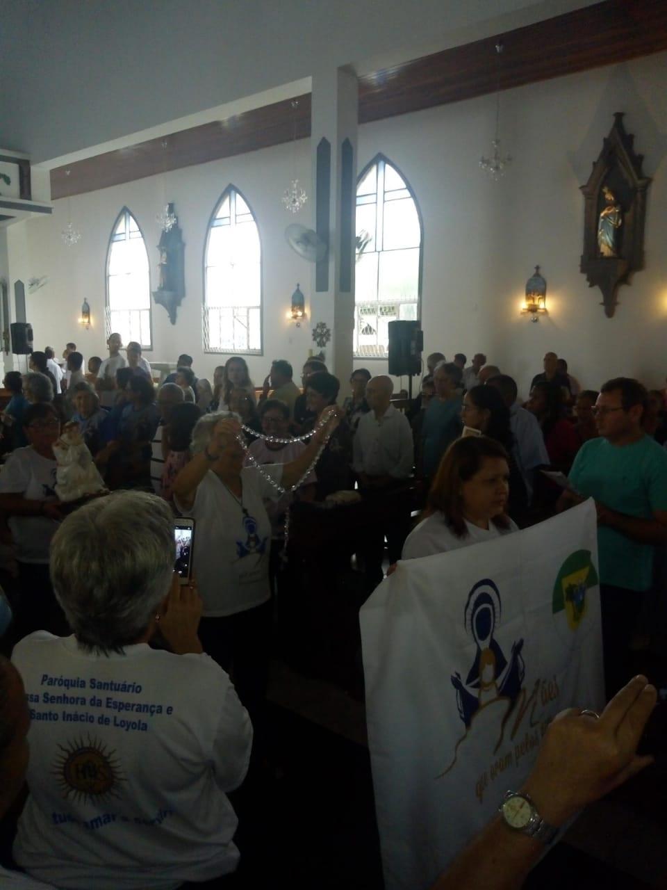 GRUPO DE MÃES DO RN PRESTIGIAM DIRETOR ESPIRITUAL NA FESTA DE CEM ANOS DA PARÓQUIA DE SÃO PEDRO APÓSTOLO – ALECRIM – NATAL – RN