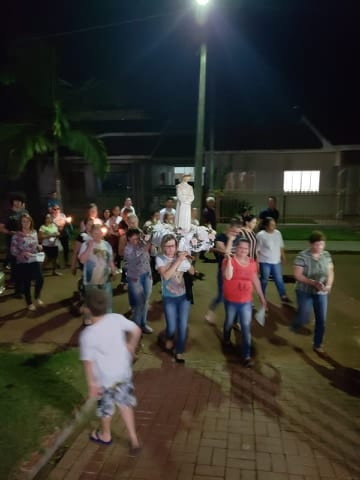 PEREGRINAÇÃO AO SANTUÁRIO NOSSA SENHORA DA SALETTE – BRAGANEY/PR