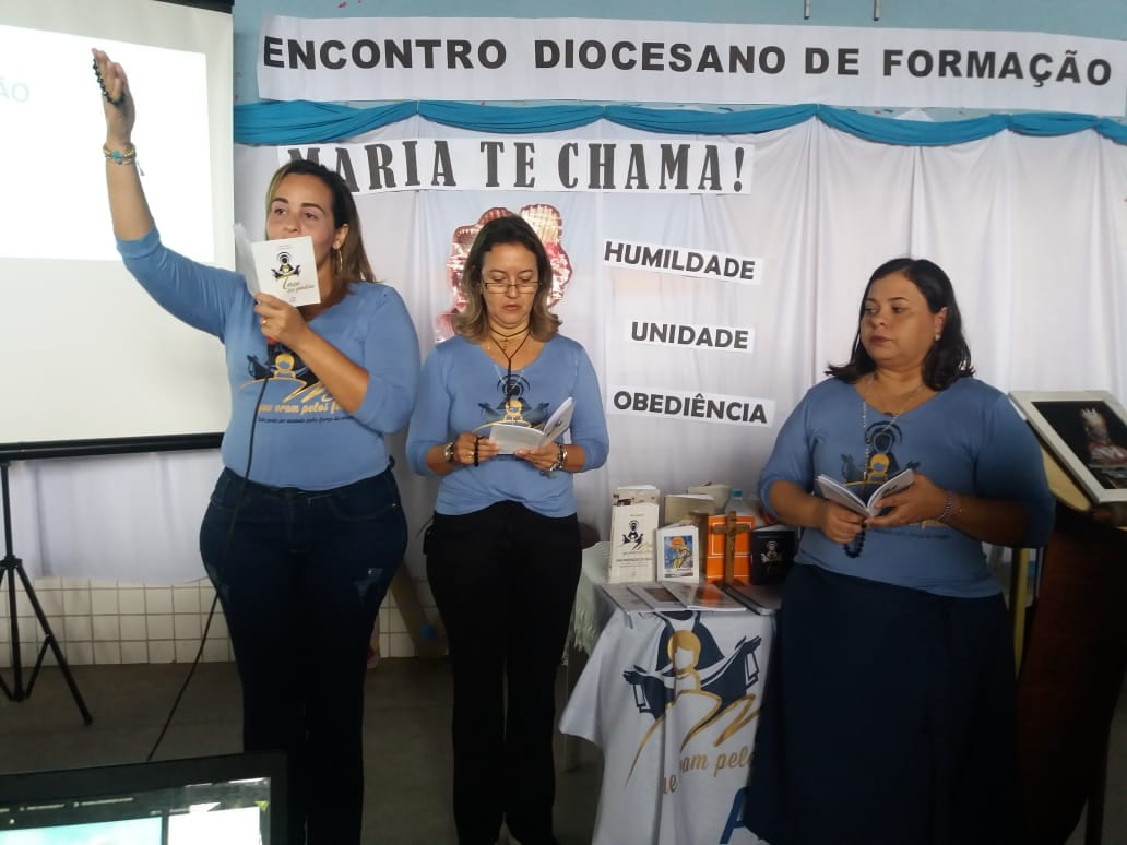 ENCONTRO DIOCESANO – DIOCESE DE PENEDO/AL – PARÓQUIA SANTA ISABEL DA HUNGRIA – ARAPIRACA/AL