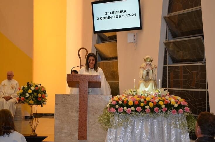 MISSA EM HONRA A NOSSA SENHORA DE LA SALETTE CURITIBA/PR