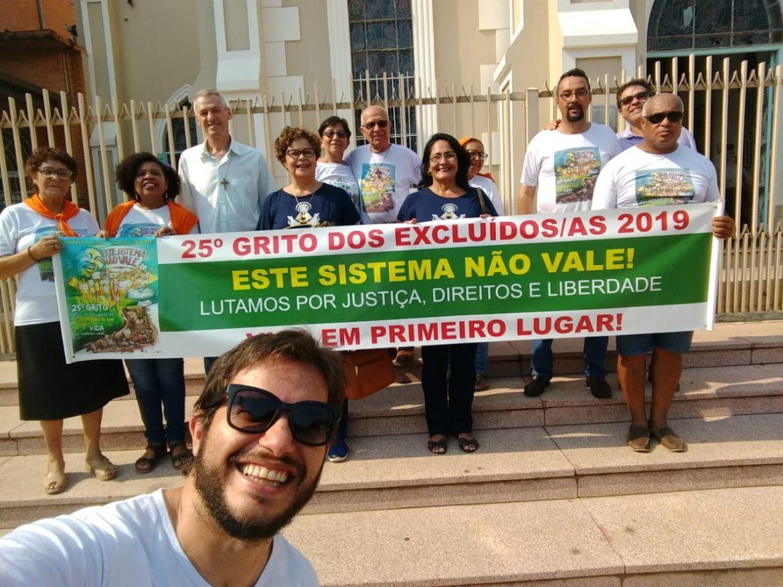MÃES ORANTES DE CORUMBÁ/MS PARTICIPARAM DO 25º GRITO DOS EXCLUÍDOS