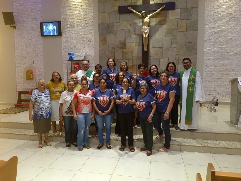 Mães Orantes da Paróquia Santo André, em Dourados