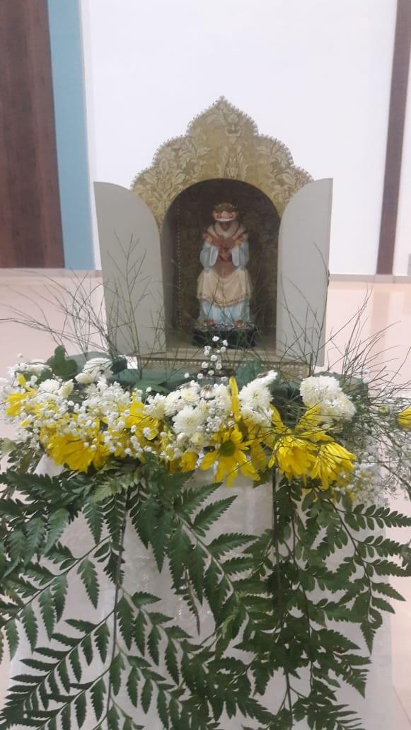 MISSA EM HONRA À N.S. DE LA SALETTE – PARÓQUIA BOM JESUS DOS MIGRANTES/SOBRADINHO