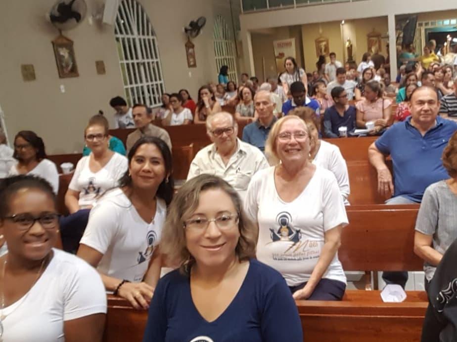 PARTICIPAÇÃO DO GRUPO DA PARÓQUIA SÃO GERALDO MAGELA – PARÁ  NA MISSA E PROCISSÃO EM HONRA A SÃO GERALDO MAGELA