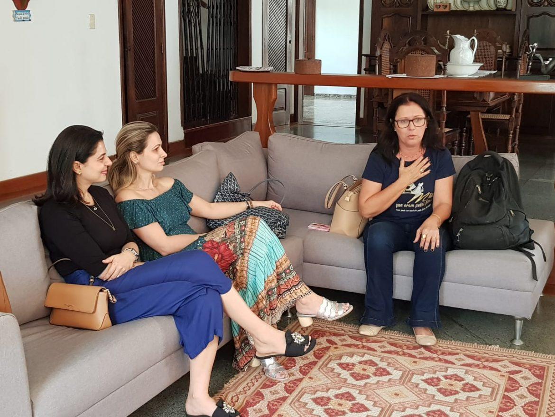 REUNIÃO DE PLANEJAMENTO PARA IMPLANTAÇÃO DA AMO HOSPITAL EM MATERNIDADES
