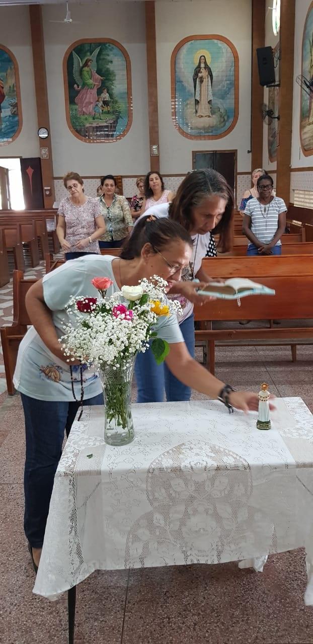 ENCONTRO SEMANAL – PARÓQUIA SAGRADO CORAÇÃO DE JESUS / MUTUÁ-RJ