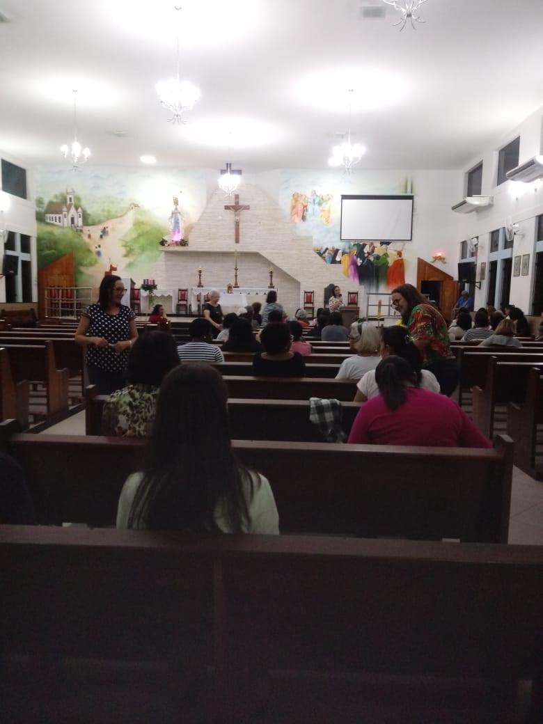 GRUPO DE MÃES DA PARÓQUIA NOSSA SENHORA DE LOURDES – ITAPERUNA/RJ