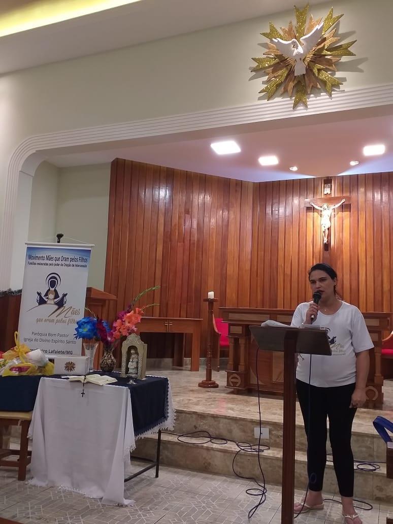 COMUNIDADE DIVINO ESPÍRITO SANTO – CONSELHEIRO LAFAIETE/MG