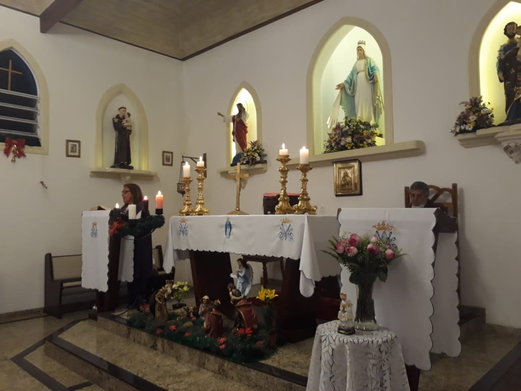 GRUPO DE MÃES DA PARÓQUIA SAGRADO CORAÇÃO DE JESUS – CAPELA NOSSA SENHORA DAS GRAÇAS – TERESÓPOLIS/RJ