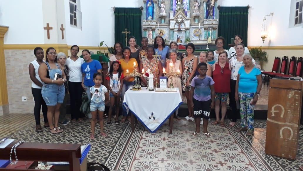 GRUPO DE MÃES DA PARÓQUIA NOSSA SENHORA DA CONCEIÇÃO – SANTA ISABEL RAINHA DE PORTUGAL – VALENÇA/RJ