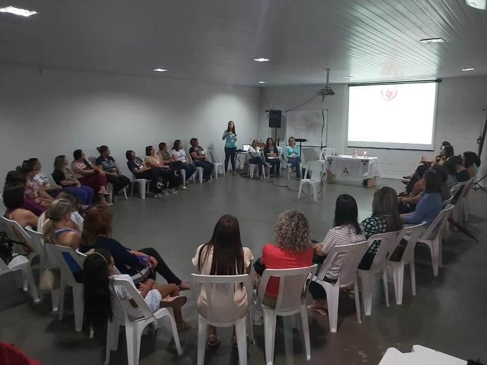 ENCONTRO DO GRUPO DE MÃES DA CATEDRAL DO DIVINO ESPÍRITO SANTO – PALMAS/TO
