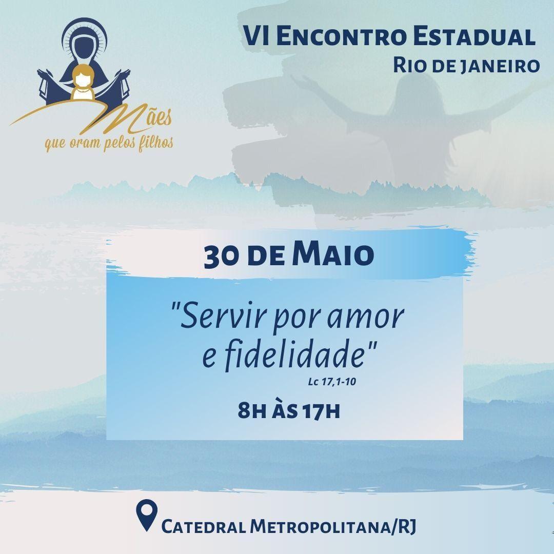 VI ENCONTRO ESTADUAL DO RIO DE JANEIRO