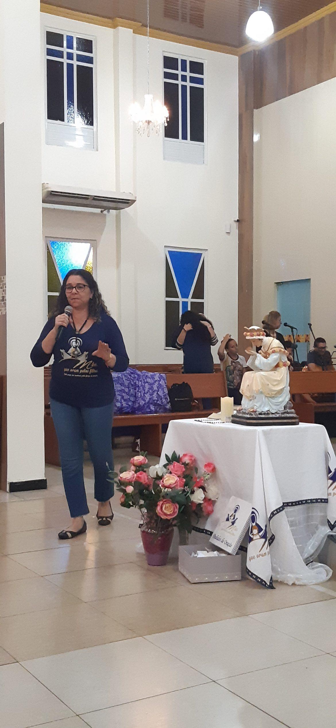 ENCONTRO DO GRUPO DE MÃES DA PARÓQUIA NOSSA SENHORA DO PERPÉTUO SOCORRO – MANAUS/AM