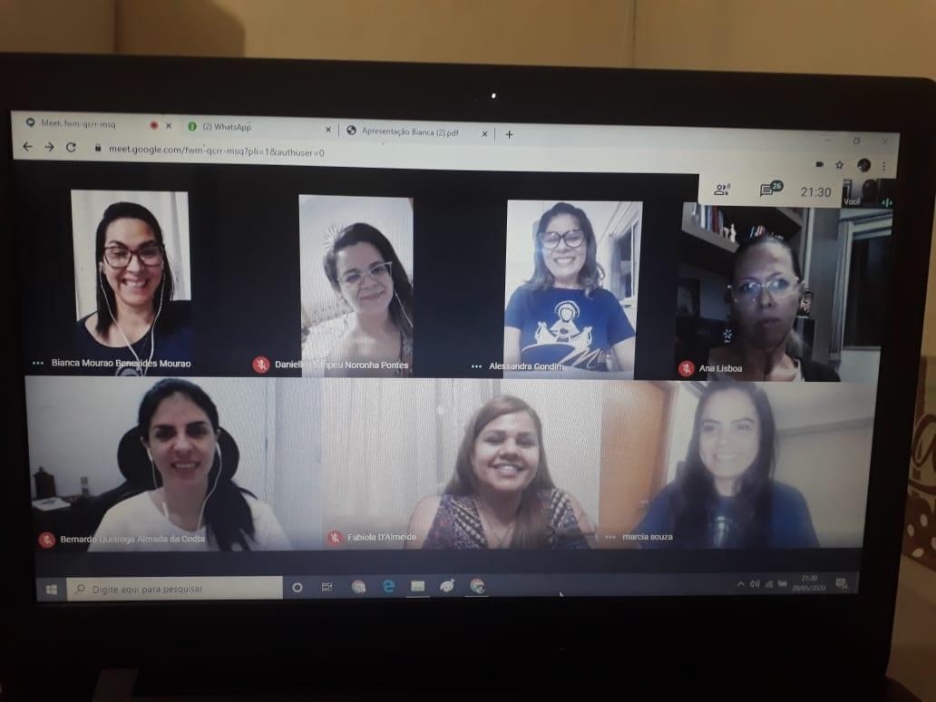 REUNIÃO VIRTUAL – SERVIÇO DE COMUNICAÇÃO/AM