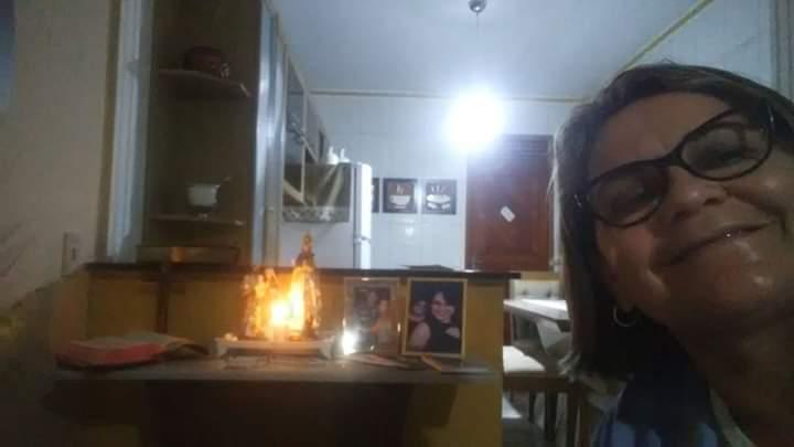 ENCERRAMENTO DA VIGILIA.GRUPO DE MÃES DA CIDADE DE JAÇANÃ/RN