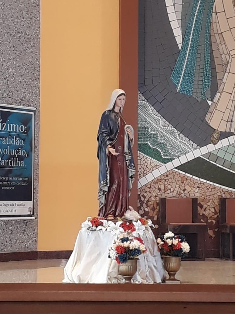 PARÓQUIA SAGRADA FAMÍLIA – OURO BRANCO/MG