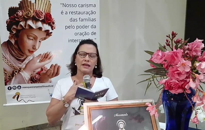 TERÇO PELOS FILHOS NA PARÓQUIA SÃO NORBERTO  – MONTES CLAROS/MG