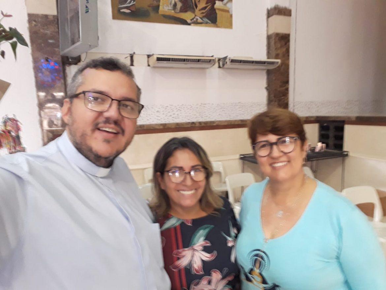 HOMENAGEM DA AMO/GO AO NOSSO DIRETOR ESPIRITUAL, PE. DAVID