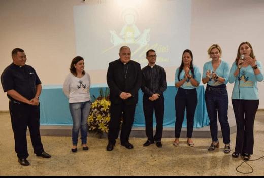 HOMENAGEM DA AMO/RJ PARA NOSSO DIRETOR ESPIRITUAL, PE. FLÁVIO VIEIRA