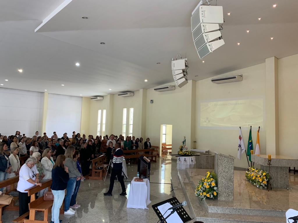 HOMENAGEM AO NOSSO AMADO DIRETOR ESPIRITUAL PE. VICENTE DE PAULA NETO, AMO/SC