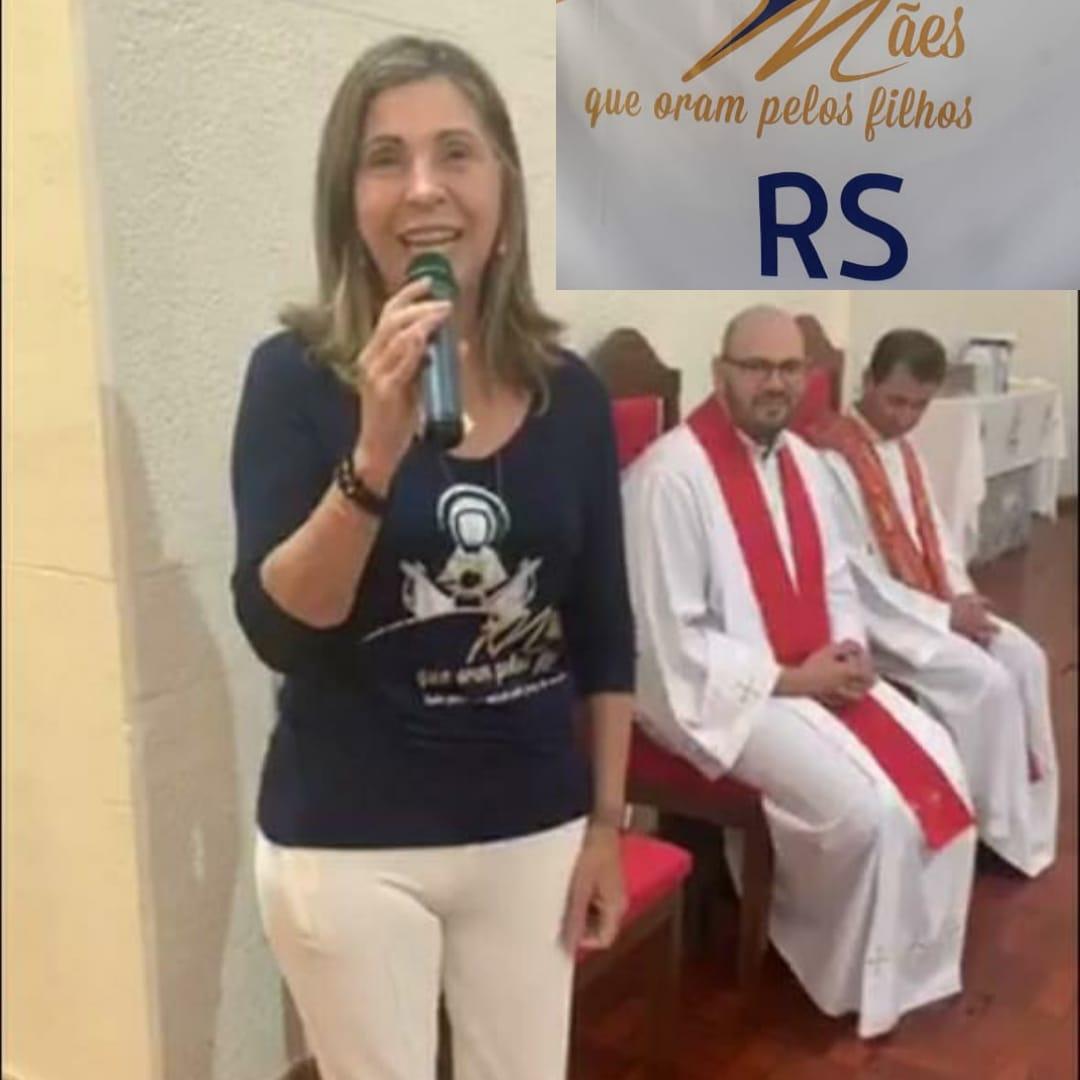 HOMENAGEM DA REGIÃO SUL A NOSSA FUNDADORA, ANGELA ABDO