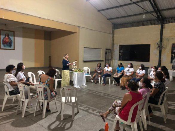 VISITA DA COORDENADORA ESTADUAL À DIOCESE DE BRAGANÇA