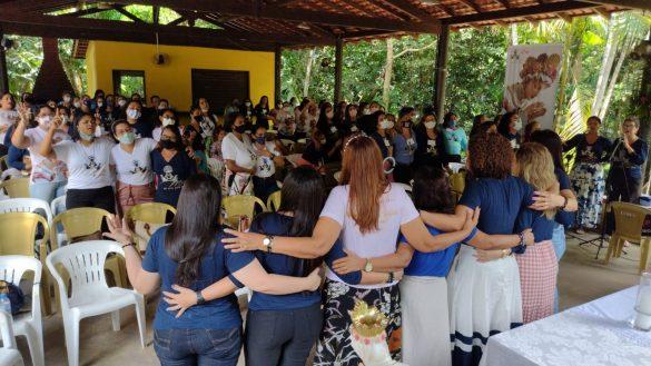 ENCONTRO ESPIRITUAL PARA COORDENADORAS DE GRUPOS E SERVIÇOS DA DIOCESE DE CASTANHAL